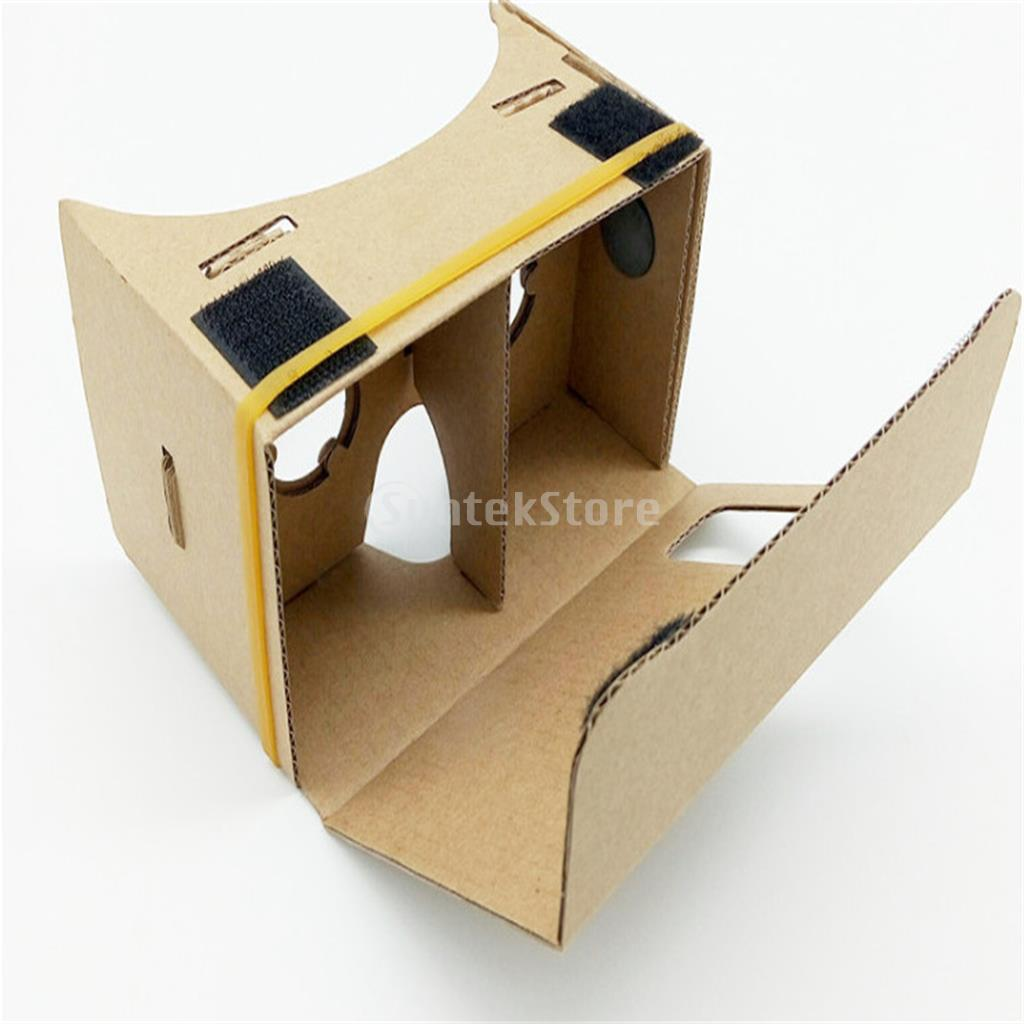 DIY 3D VR Google Cardboard Video Glasses Virtual Reality For Mobile Phones ...