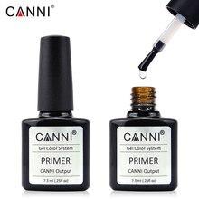 CANNI Brand Professional Nail Art UV Varnish 7.3 ml Good Quality Primer No Need Lamp Keep More longer Base