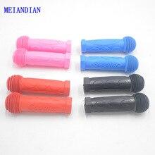 Противоскользящий велосипед, трехколесный скейтборд, скутер, резиновая ручка, руль велосипеда, ручки для детей, синий, красный, черный, розовый