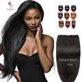 9А бразильский прямо клип в наращивание волос клип в выдвижений человеческих волос прямой черный клип на наращивание волос прямой человеческих волос