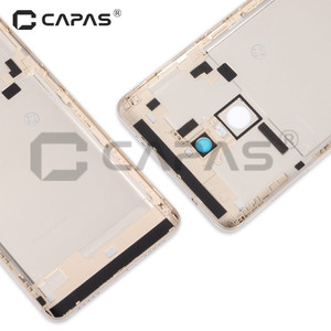 Image 4 - For Xiaomi Redmi Note 4 Global Version Metal Back Battery Housing Cover Redmi Note4 back Cover Snapdragon 625 Replacement Parts