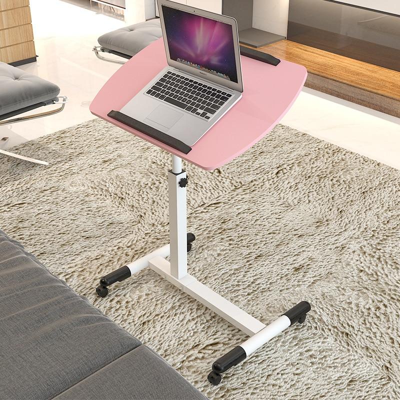 Modern Design Computer Desk Laptop Table For Bed Folding Install ...