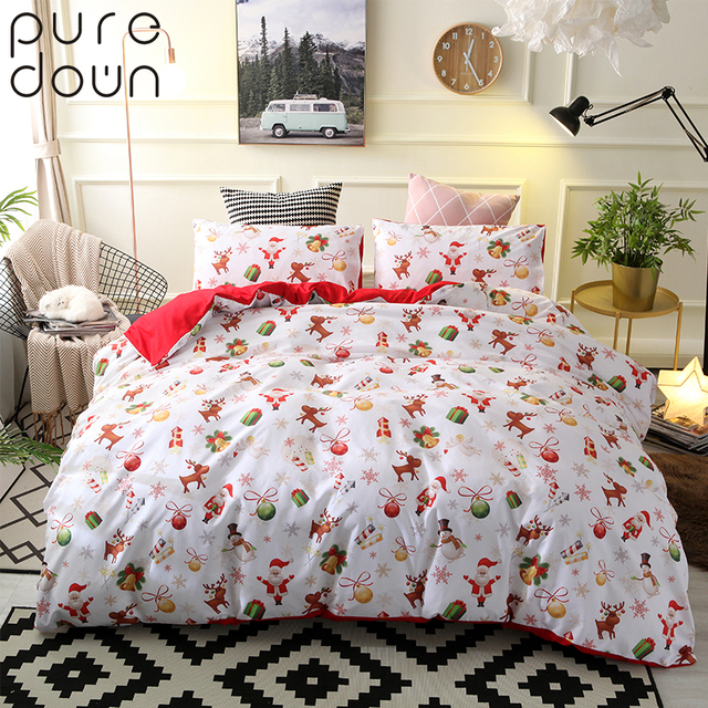 Duvet Cos.Us 25 9 35 Off Puredown King Size Comforter Duvet Cover Sets Nightmare Before Christmas Polyester Home Wedding Bedding Set Without Sheet In Bedding