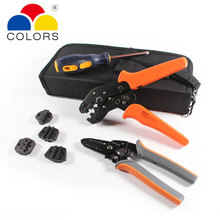 5in1 wire stripper Crimping pliers 4 jaws kit package for terminals,multitool crimping tool set,tube  terminal crimp