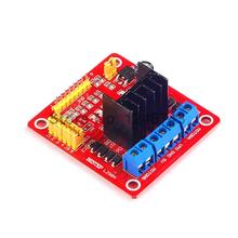 1PCS L298 L298N Dual Bridge DC Stepper Motor Driver Shield Module Expansion Controller Board for Arduino