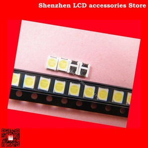 Image 2 - 300 adet/grup Bakım Konka Skyworth Changhong LED LCD TV arkaplan ışığı ışıkları Ju fei 2835 SMD lamba yuvası 3 V