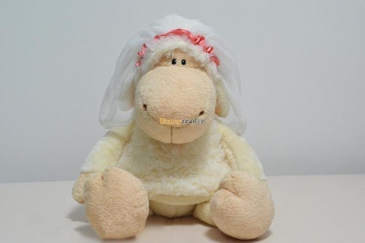 Fancytrader 20\'\' 50cm 2 pcs Plush Stuffed NICI Jolly Mah Sheep, Free Shipping FT90399 (2)