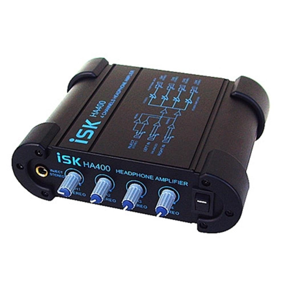 ISK HA400 puissant amplificateur de casque à double Tube électronique Portable Mini amplificateur de casque de musique pour téléphone Portable