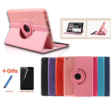 цена на Luxury Magnetic Color Painted PU Leather For Apple iPad Air Stand Case For IPAD Air1 For iPad 5 Tabliet PC Cover+Film+Pen+OTG