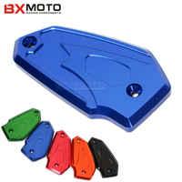 Motorcycle accessories Brake Fluid Reservoir Brake Fluid Oil Reservoir Cap Cover For Kawasaki ER6N/ER6F Z800 Versys650 z900 Z650
