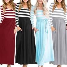 ea622a4f4a970 Dress Maxi Stripped Promotion-Shop for Promotional Dress Maxi ...