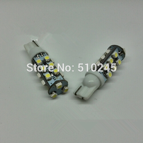 100X Car styling LED light 194 168 W5W T10 strobe 21 smd 3528 LED auto car Bulb Lamp 12V free shipping