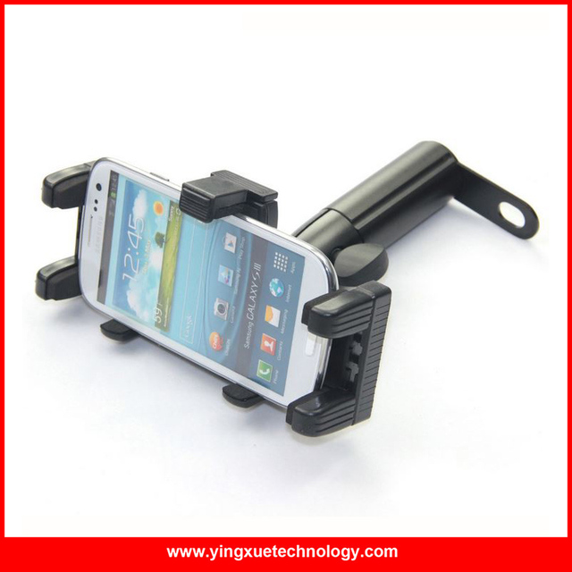 Universal Motorcycle Mirror Mount Cell Phone Mount Holder Stand for 4.5-5.3 inch Mobile Phones GPS PDA