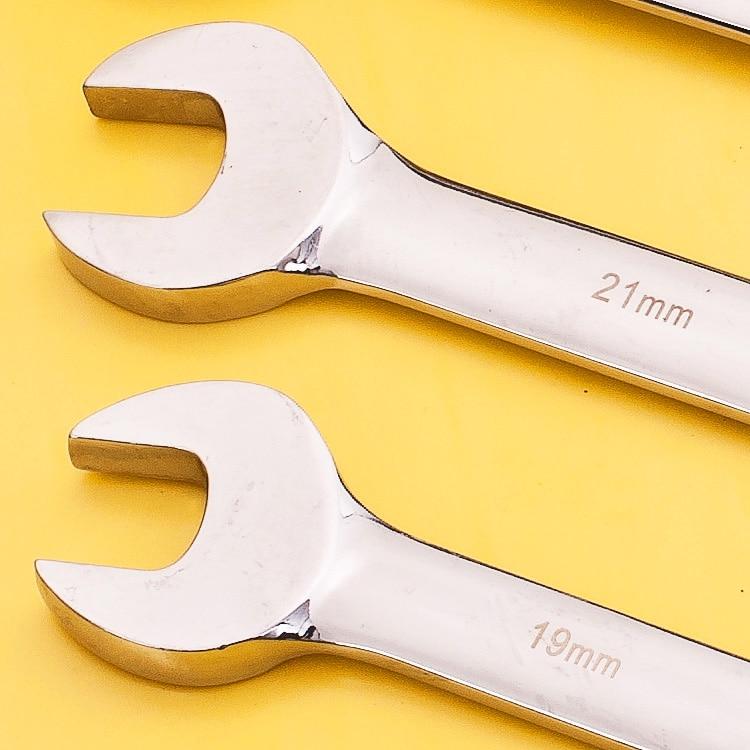 Chiave metrica a cricchetto Chiave aperta e chiavi ad anello - Utensili manuali - Fotografia 5