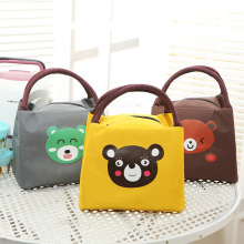 Cute Cartoon Baby Food Thermal Bag Portable Infant Feeding Milk Bottle Insulated Warmer Bags Outdoor Travel Picnic Tote MBG0424