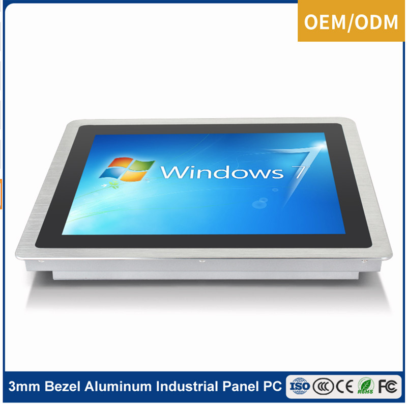 12 inch 1080P Win7/Win8 Industrial Touch Screen All In One PC