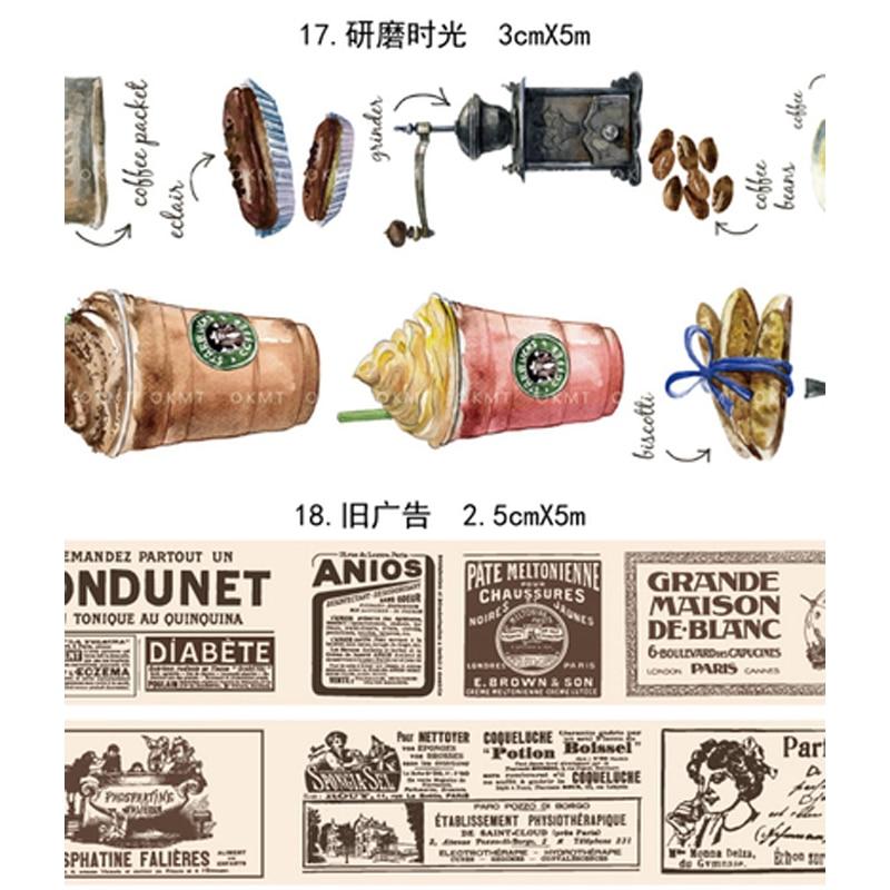 Bookself/Bricks/Girls/Paper Washi Tape DIY Decoration Scrapbooking Planner Masking Tape Adhesive Tape Label Sticker Stationery