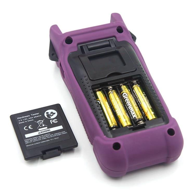 Verificador portátil da dureza de astm a956