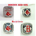 Drop Shipping4pcs/lot Sport Fans 2004 ,2007,2013 Boston Red Sox World Series Championship Ring for men Size 11Replica Champion