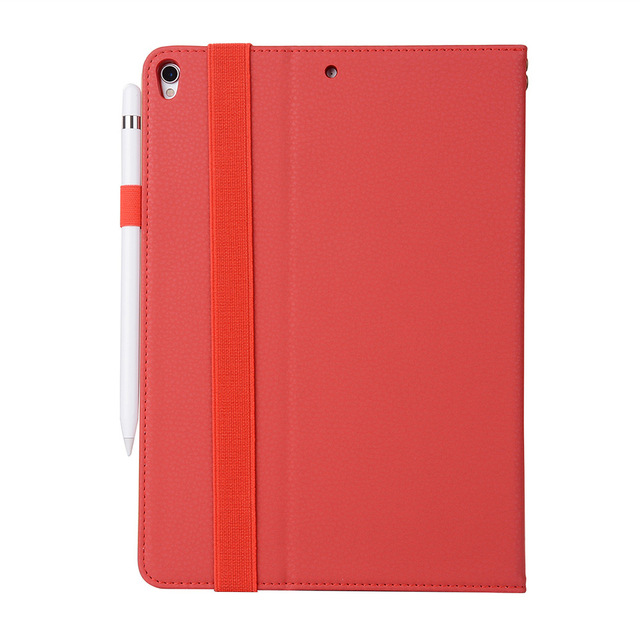 Red Ipad pro cover 5c649ed9e2d28