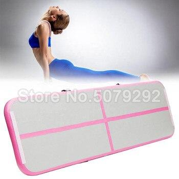 Бесплатный насос! Новый розовый цвет надувной коврик для спортзала 3 м * 1 м * 0,1 м треки для спортзала DWF воздушный пол воздушный коврик для дет...