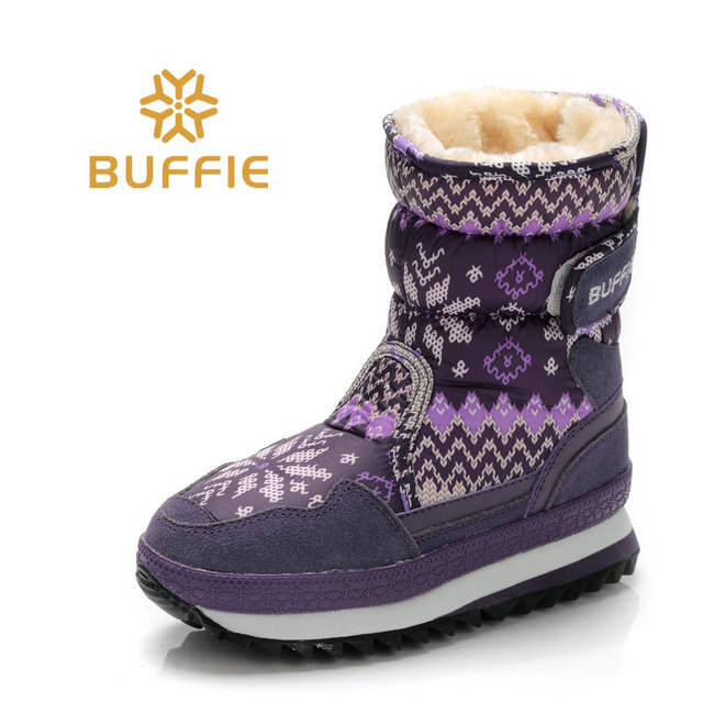 boots boots women waterproof winter shoes snow boots plush warm  fur antiskid outsole warm boots brand shoes style fashion shoes