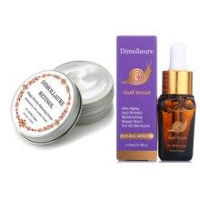 Dimollaure Retinol Cream snail Hyaluronic Acid Argireline peptidesant serum Reduce Freckles