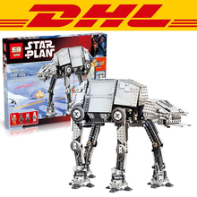 2016 New LEPIN 05050 1137Pcs Star Wars Motorized Walking AT-AT Model Building Kits Blocks Bricks Compatible Children Toys 10178