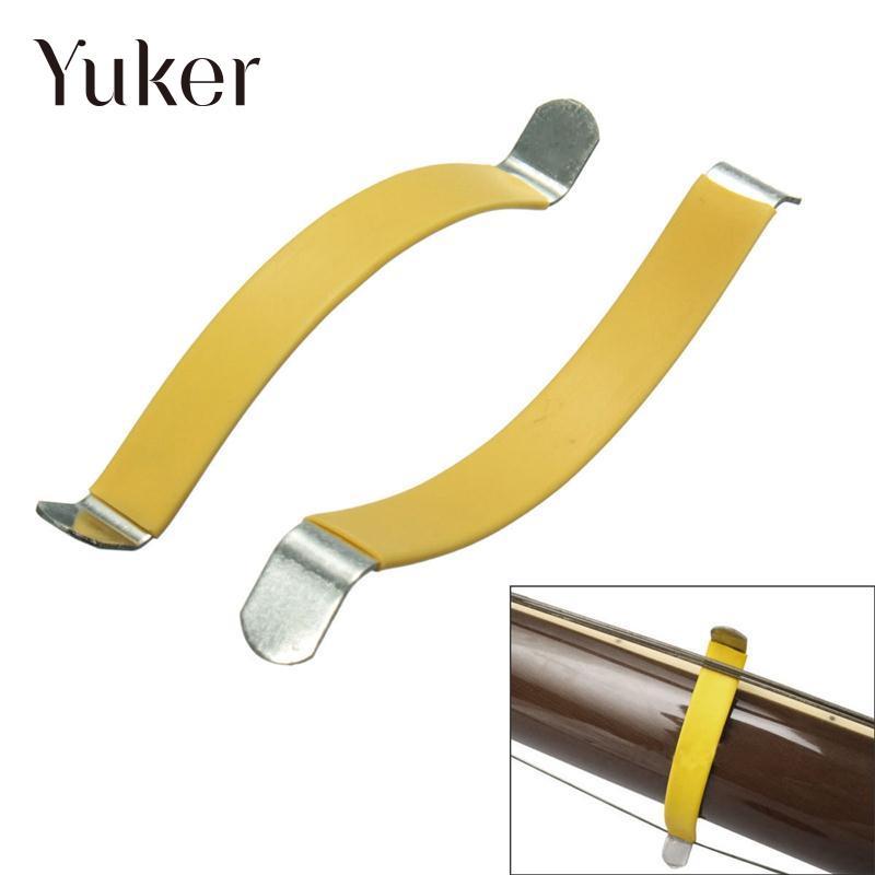 Yuker Stainless Steel Guitar Luthier String Spreader Fretboard Fret Care Tool