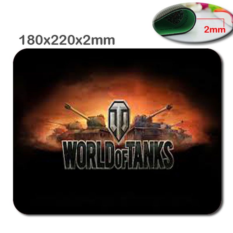 2017 Top Selling Print World Of Tanks Explosion New Arrivals Mouse Pad Computer Gaming Mouse Pads 180*220*2 And 290*250*2mm