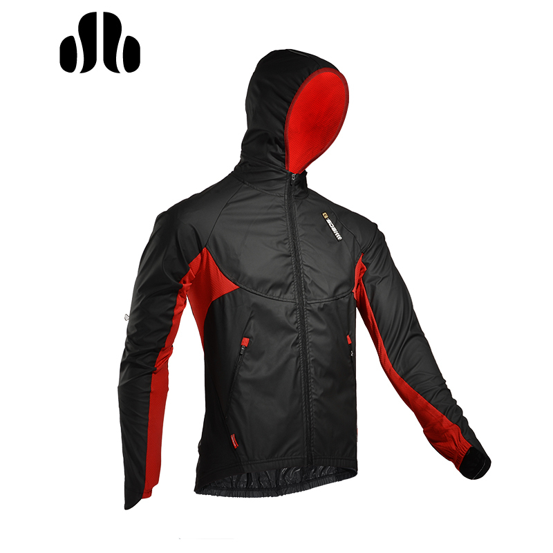LANCE SOBIKE WINDOUT Winter Outdoor Cycling Jersey Windproof Breathable Riding Coat Men Women Long Sleeves Hooded Clothing недорго, оригинальная цена