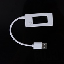 Portable LCD Display USB Charger Voltage and Current Detector Mobile Power Charger Tester Meter with Load