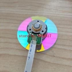 100% nowy kolor koła do projektora optoma hd83 HD82 projektorach 6 kolorów