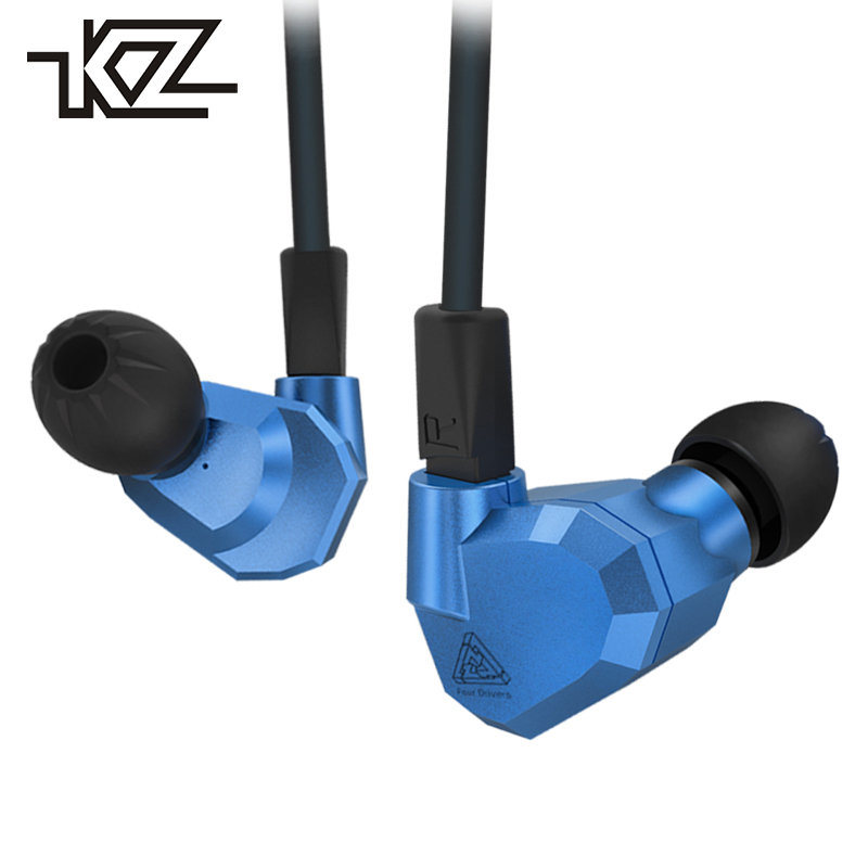 KZ ZS5 Hifi Wired In-ear Earphones For Phone iPhone Player Headsets Headphones With Microphone In Ear Earbuds Earpiece Auricular kz ed8m earphone 3 5mm jack hifi earphones in ear headphones with microphone hands free auricolare for phone auriculares sport