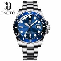 2019 New Lastest Luxury Brand Watch Men's Diver Gold Stainless Steel Blue dial Two Tone Man Quartz Wrist watch 50 waterproof