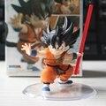 Dragon Ball Goku Estatuilla Niños Estilo Figuras de Acción Doll PVC Modelo Juega El Envío libre