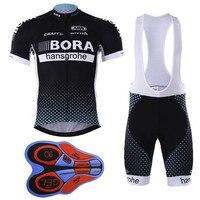 2017 bora équipe D'été dh Pro Racing sporting COMP du monde UCI tour Porto 9d gel vélo maillots fh Vélo Ciclismo vêtements manufact