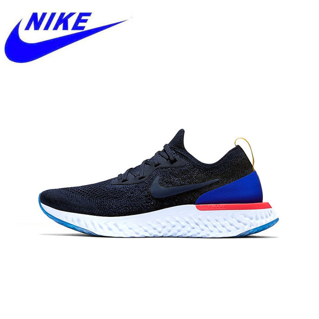 116689808 Original New Arrival Authentic Nike Epic React Flyknit Mens Running Shoes  Sneakers Sport Outdoor Good Breathable AQ0067 100-in Running Shoes from  Sports ...