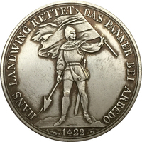 FREE SHIPPING  Switzerland  5 Franken Shooting Festival 1869 coins copy