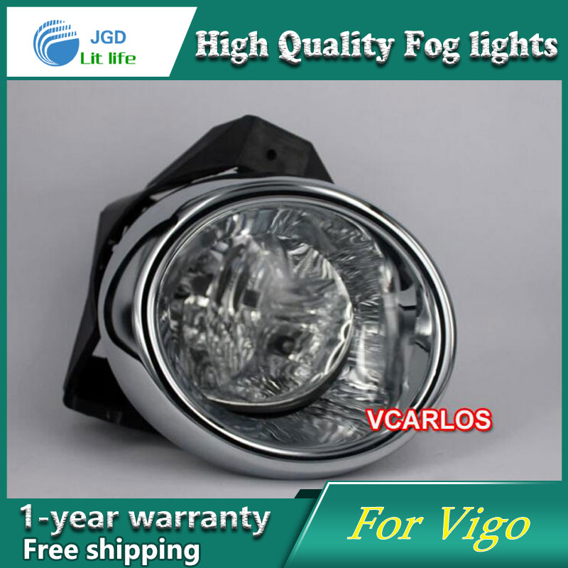 2PCS/Pair Halogen Fog Light For Toyota Vigo 2008 High Power Halogen Fog Lamp Auto DRL Lighting Led Headlamp виниловые обои sirpi liguria 19724