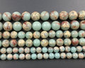 Natural blue green sea sediment jasper beads,jewelry making beads Imperial Jasper bead supplies 4mm 6mm 8mm 10mm 12mm 1strand