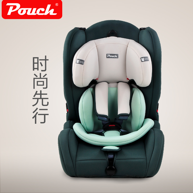 2017 Hot Sale Real Five-point Harness Forward-facing Ccc Sitting Baby Car Seat Pouch Child Safety Seat 9 - 12 Baby Car Portable hot sale hot sale car seat belts certificate of design patent seat belt for pregnant women care belly belt drive maternity saf