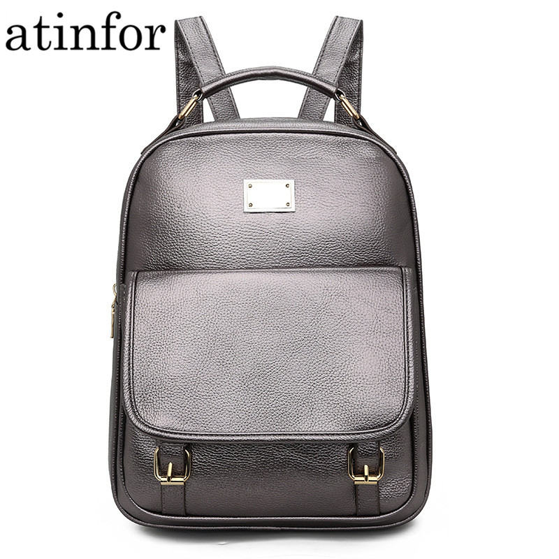Fashion Women Soft PU Leather Backpack Small Portable Shoulder Bagpack Travel Bags Belt School Bag for FemaleFashion Women Soft PU Leather Backpack Small Portable Shoulder Bagpack Travel Bags Belt School Bag for Female
