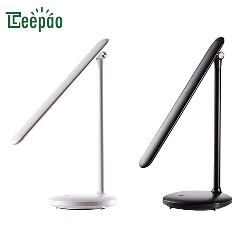 LED Folding Table Lamp USB Rechargeable Dimmable Foldable Desk Lamp Reading Light Eye protection Table Lights for Student Study huan jun shi led dimmable desk lamp usb rechargeable led table lamp atmosphere night light eye care adjustable rgb table light