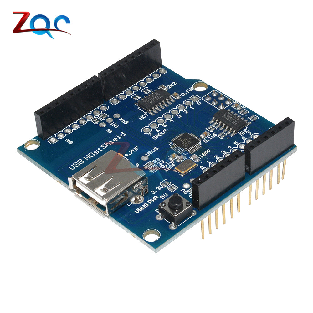 USB Host Shield Support Google for Android ADK & UNO MEGA 2560 Duemilanove For Arduino lcd keypad shield for arduino duemilanove