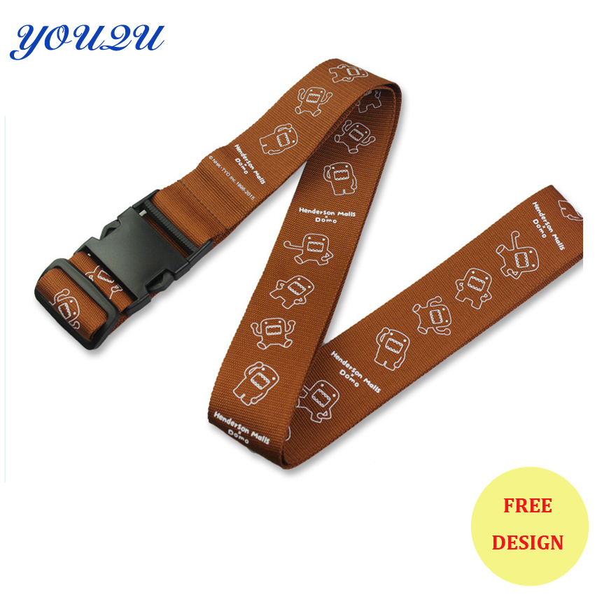 Practical Luggage Lanyards Adjustable Luggage Straps Printing Luggage Straps Lowest Price+escrow Accepted