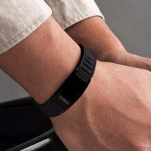 Hottime Sports Titanium Steel Bracelet Wristband Balance Human Body