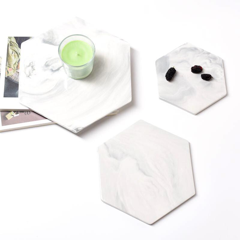 Мраморные разделочные доски для сыра декоративная тарелка для кондитерских изделий поднос для сервировки измельчитель разделочная подставка Mad Pad серый большой круглый прямоугольник-1