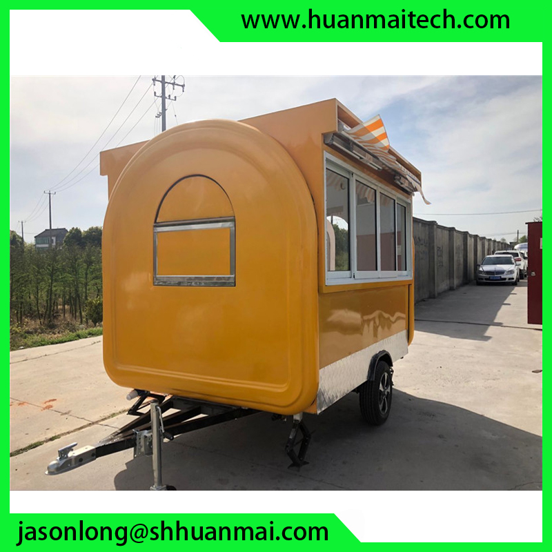Mobile Food Trailer Catering Van Food Truck