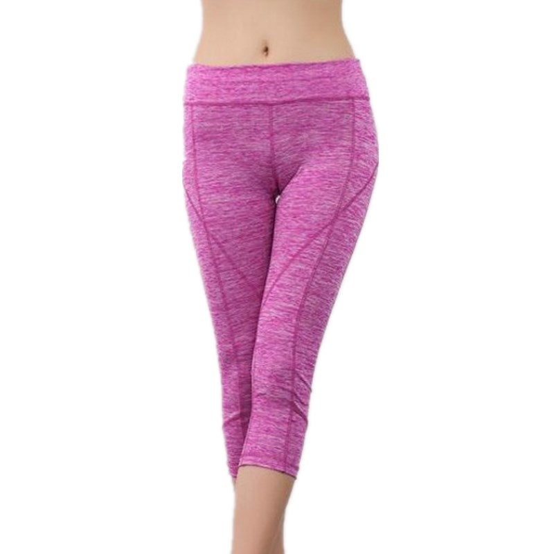 2018 Sexy bodybuilding Women movement Leggings Fitness Trouser Strength movement   Pants     Capri   Reflective footing Sweatpants